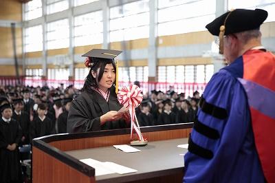 2012年度 卒業式並びに修了式(2013/3/10)