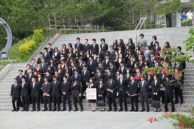 2013年度 入学式(2013/4/4)