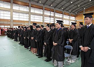2011年度 卒業式並びに修了式(2012/3/11)
